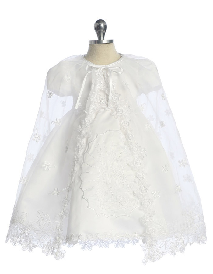 Babies Formal Wear, Baptismal Dresses BT119 White