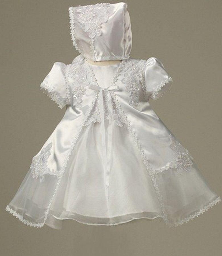 Babies Formal Wear, Baptismal Dresses BT123 White