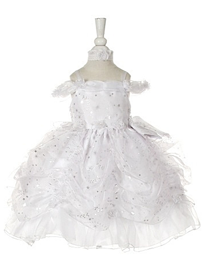 Babies Formal Wear, Baptismal Dresses BT125 White