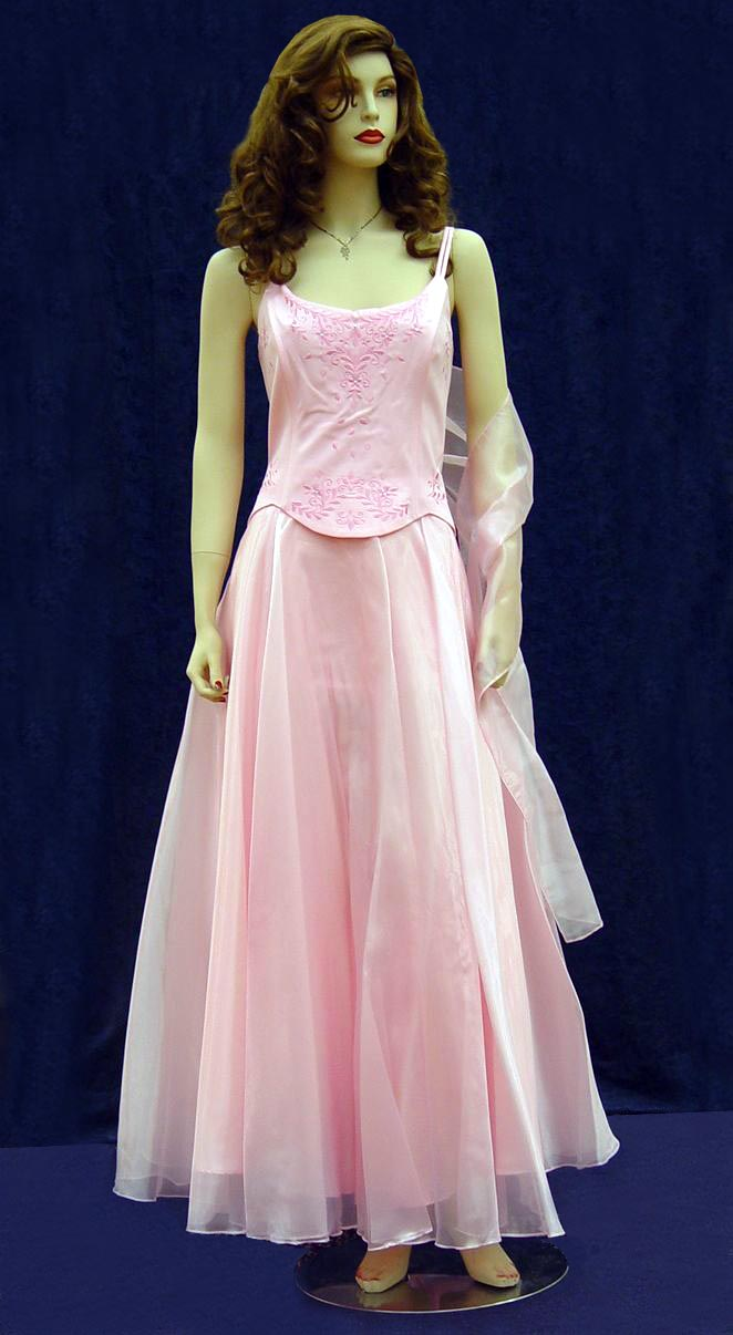 Prom Gowns, P0119 Pink