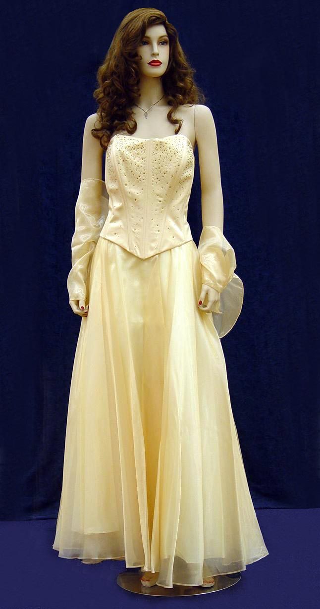 Prom Gowns, P0120 Yellow