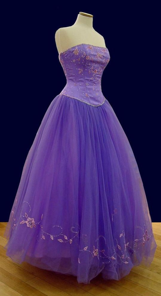 Prom Gowns, P0103 Purple