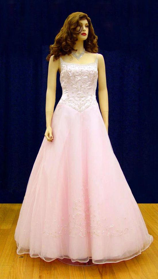 Prom Gowns, P0111 Pink