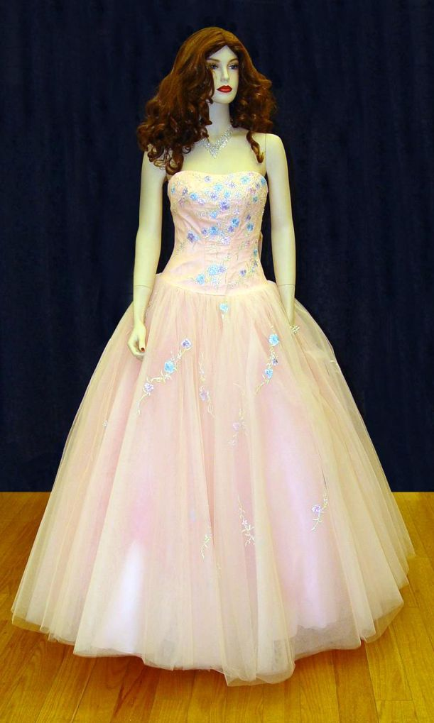 Prom Gowns, P0105 Pink