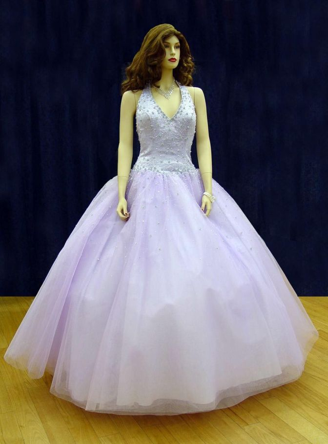 Prom Gowns, P0102 Lilac
