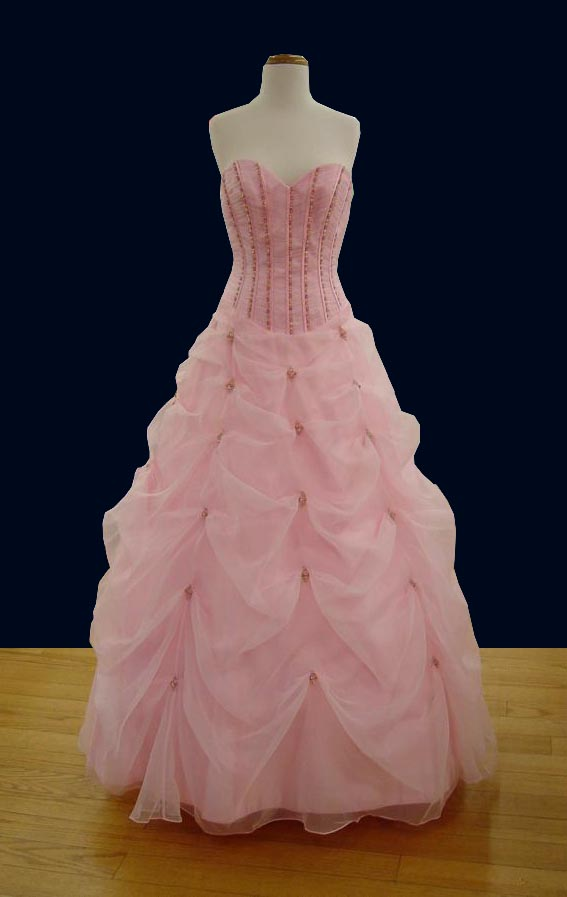 Prom Gowns, P0123 Pink