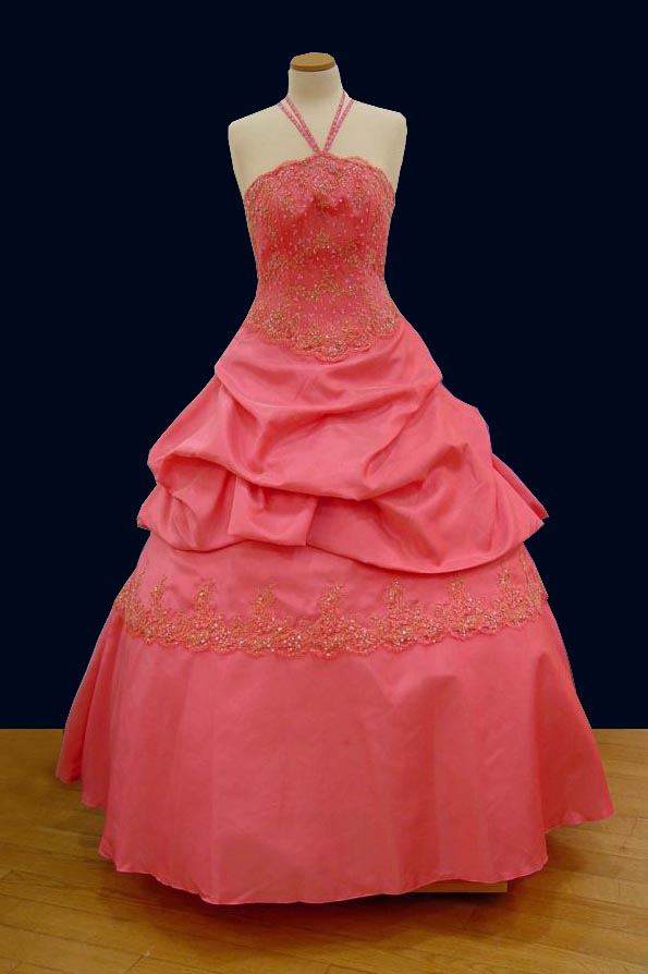 Prom Gowns, P0124 Rose