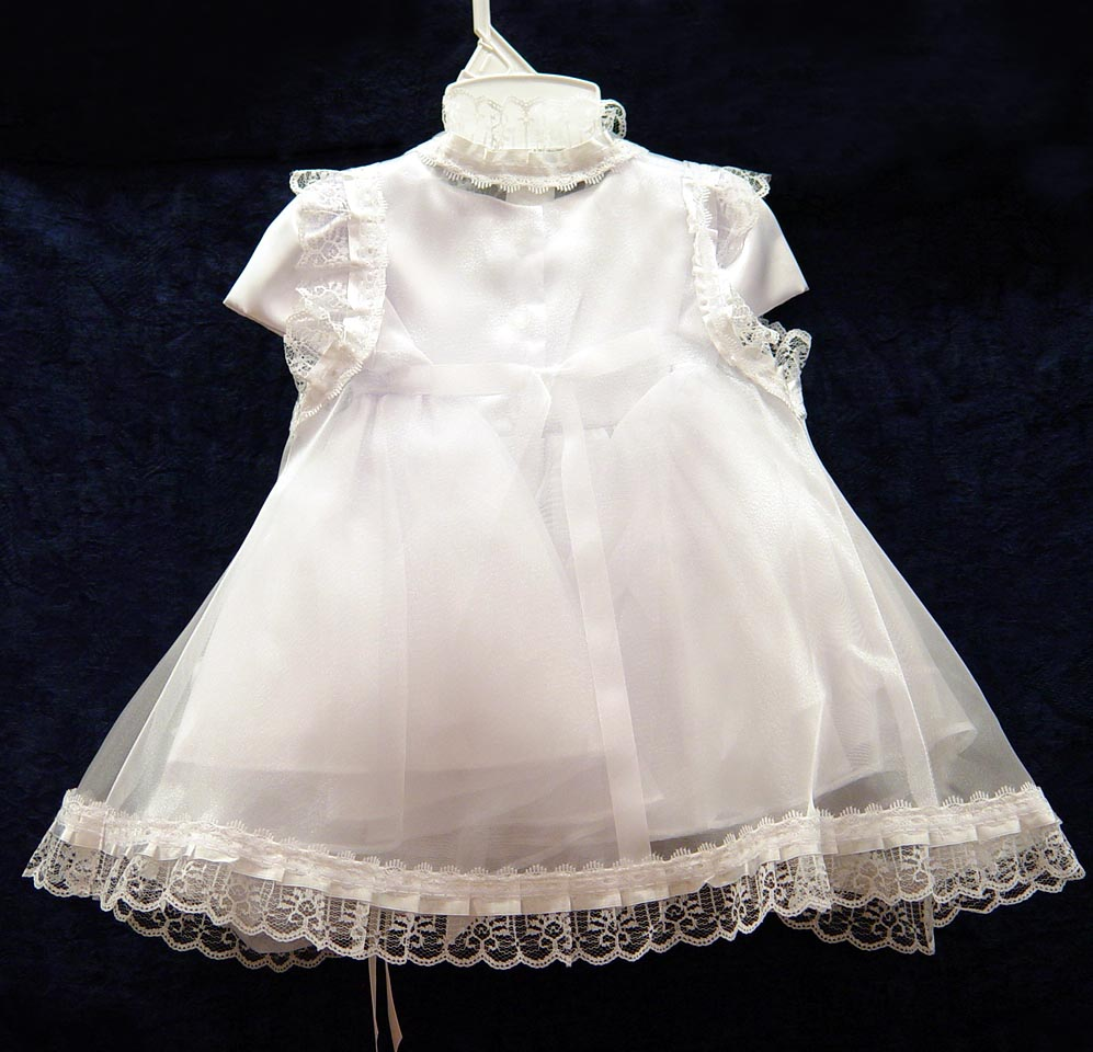 Style Formal Dresses Babies Baptism Clothes