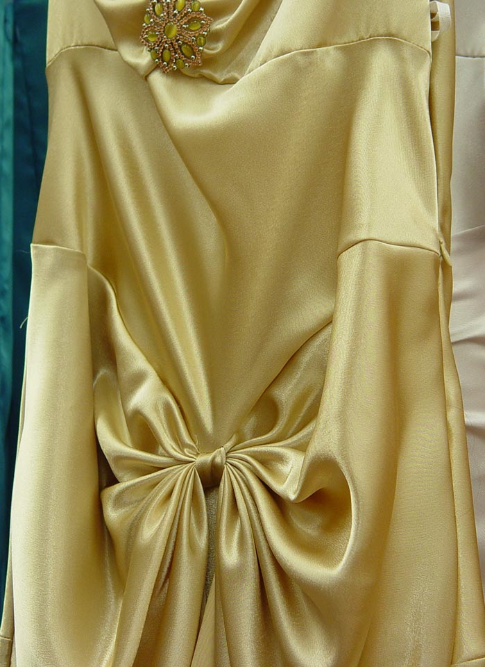 Glam Gold Bridesmaid Dress 3