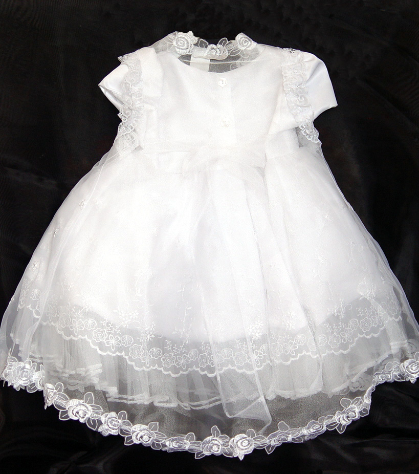Style Bt113 Baby Dresses Baptism Gowns Christening Attire