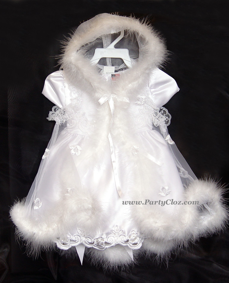 Formal Dresses for Babies, BT114 White