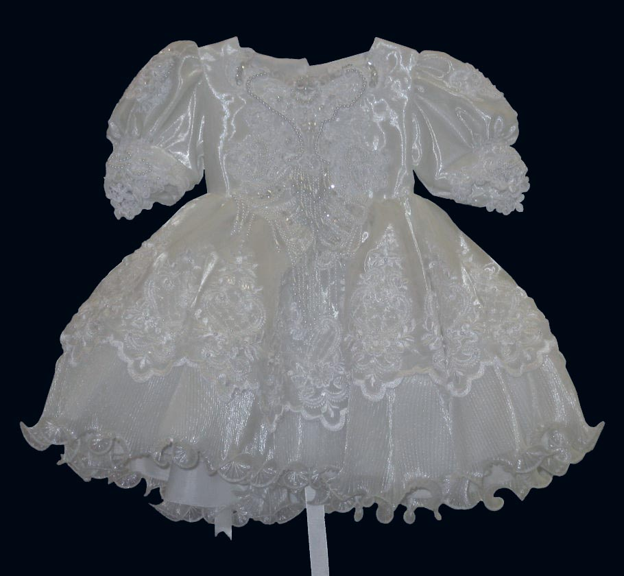 Formal Dresses for Babies, BT104 White