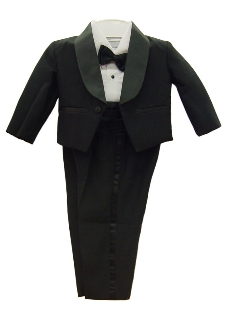 Children Tuxedos Style T0101 in Black