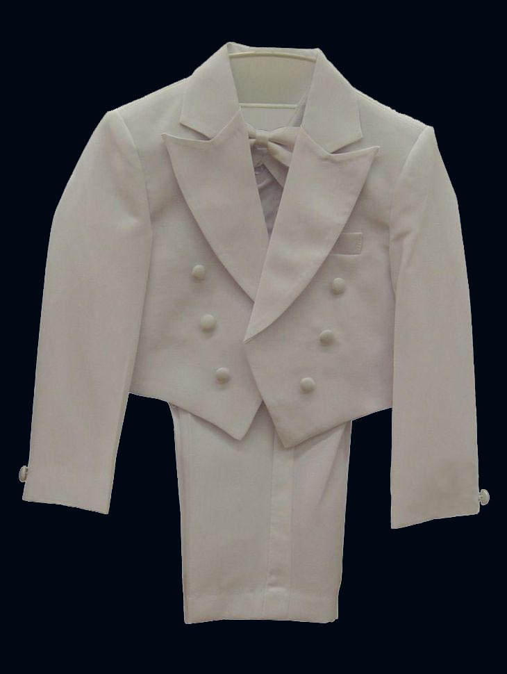 Baby Suits and Tuxedos TB105 White